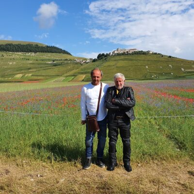 Con Beppe nel Centro Sud Italia -2020