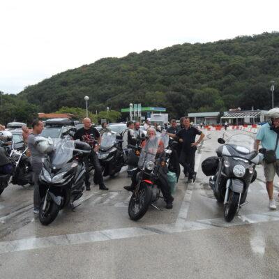 I Biker in Croazia -2012