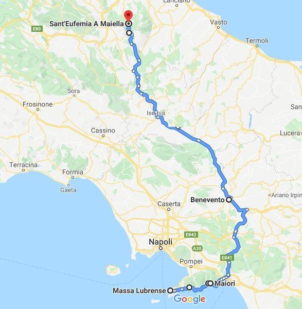 itinerario quarto giorno