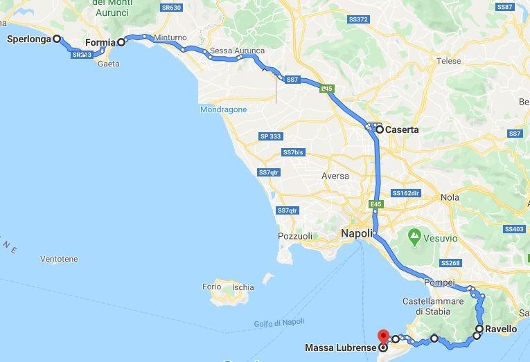 itinerario terzo giorno