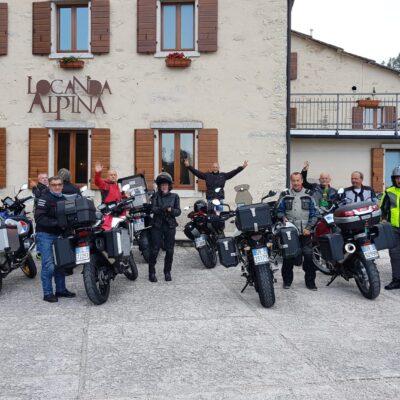 Motogiro 2020 – I Biker di Castelvetro tra laghi, monti, pioggia e buona tavola