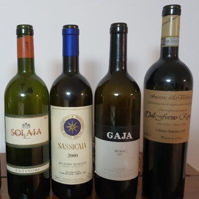 Buon cibo e buon vino: insomma, buona vita