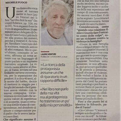 """Ne """"La vita dirà la sua"""" Lauro Venturi racconta la voglia d'amore"""