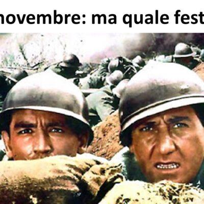 4 novembre: ma che festa?