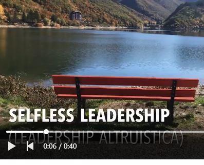 "SELFLESS leadership – ""Leadership altruistica"""