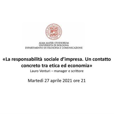 La responsabilità sociale d'impresa. Un contatto concreto tra etica ed economia